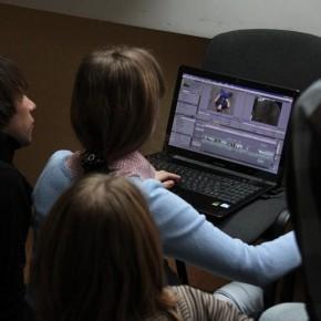 Производство клипа: монтаж (Минск, 2011 год)