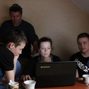 Мастер-класс Квасьневсклого вкиношколе (Минск, 2011 год)