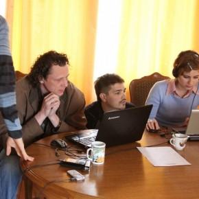 Киношкола: работа над клипом намастер-классе Квасьневского