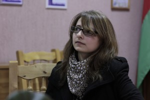 Алёна Ясинская на миникинофоруме