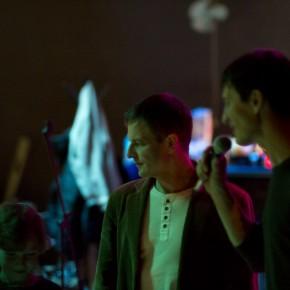Леонид Калитеня на выпускном вечере киношколы в клубе «Джем» (Минск, улица Восточная, 139)