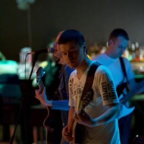 Группа «Вектор Эго» на выпускном вечере киношколы в клубе «Джем» (Минск, улица Восточная, 139)
