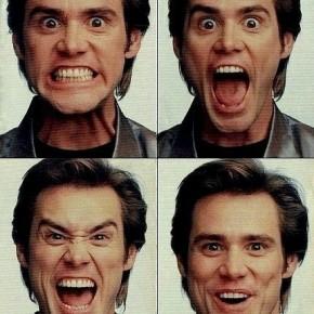 Эмоции: Джеймс Ю́джин «Джим» Ке́рри (James Eugene «Jim» Carrey), канадо-американский актёр, комик, сценарист и продюсер
