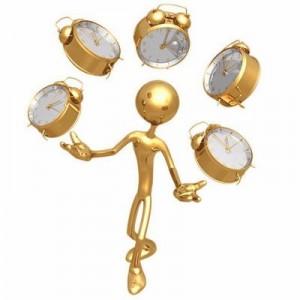 Тайм-менеджмент, жонглирование часами