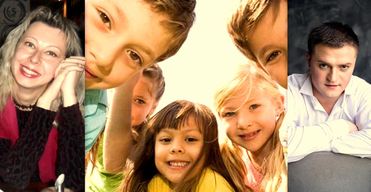Коллаж: Анна Мишутина, дети, Дмитрий Тумас (сайт Минской школы киноискусства)