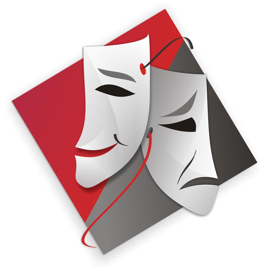 театральные маски (сайт Минской школы киноискусства)