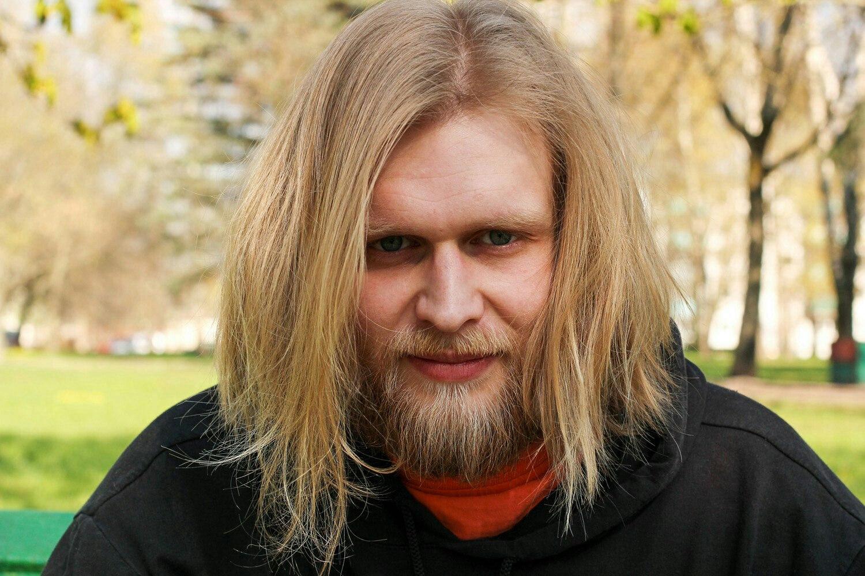 Волосатый мужчина (борода, длинные волосы)