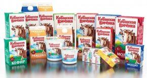 Кубанская Бурёнка: молочная продукция (молоко, кефир, ряженка, сметана, творог)