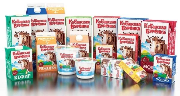 Кубанская Бурёнка: молочная продукция (молоко, кефир, ряженка, сметана, творог) (сайт Минской школы киноискусства)