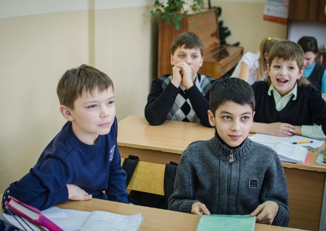 Наўроку матэматыкі ўфільме: 6«А» клас 170-й мінскай школы