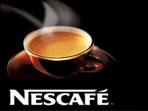 Nescafé: чашка, блюдце, логотип