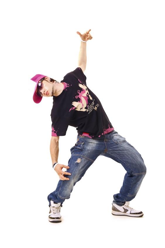 Танцующий парень