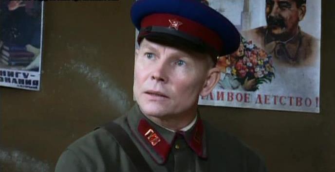 Актёр Виталий Котовицкий вроли начальника особого отдела вфильме «Спасти илиуничтожить»