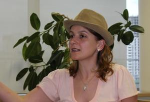 Ксения Жаафар, психолог, коуч, тренер поразвитию креативного мышления иличной эффективности (Минск, Беларусь)