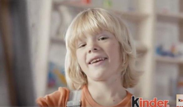 Kinder (шоколад): мальчик