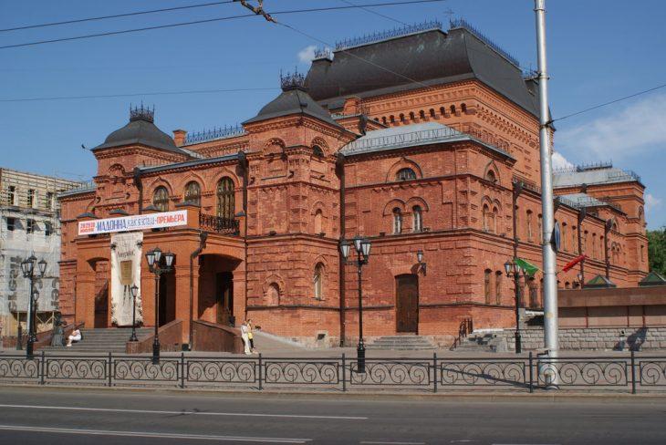 Могилёвский театр драмы (Могилёв, Беларусь) (сайт Минской школы киноискусства)