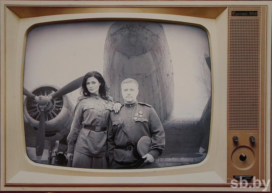 Александр Серебренников в телевизоре