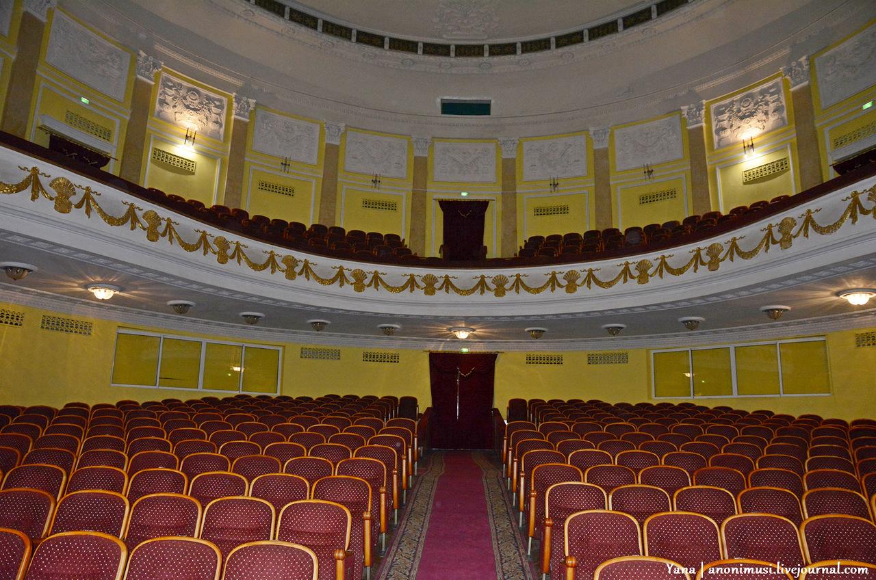 Гомельский областной драматический театр: зал (Беларусь, Гомель, площадь Ленина, 1)