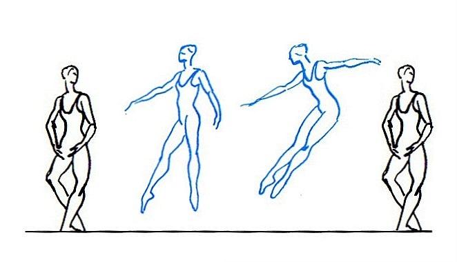 Brisé— прыжок