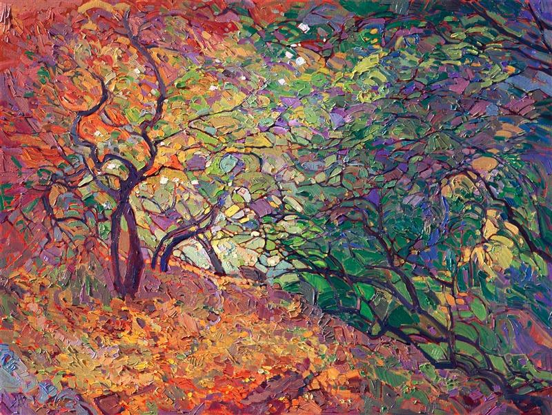 Пейзаж «Cottonwood Path» (художник— Эрин Хэнсон)