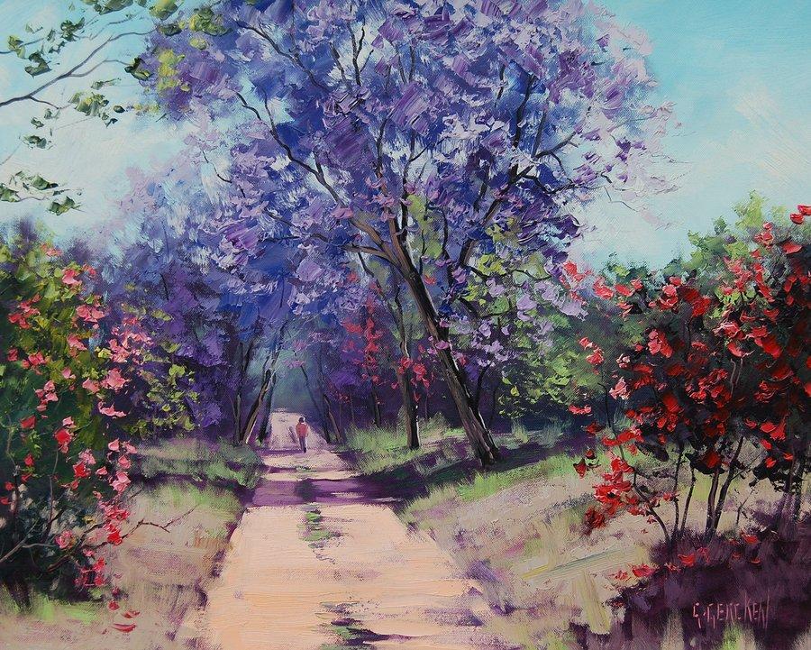 Пейзаж (художник— Грэм Геркен)