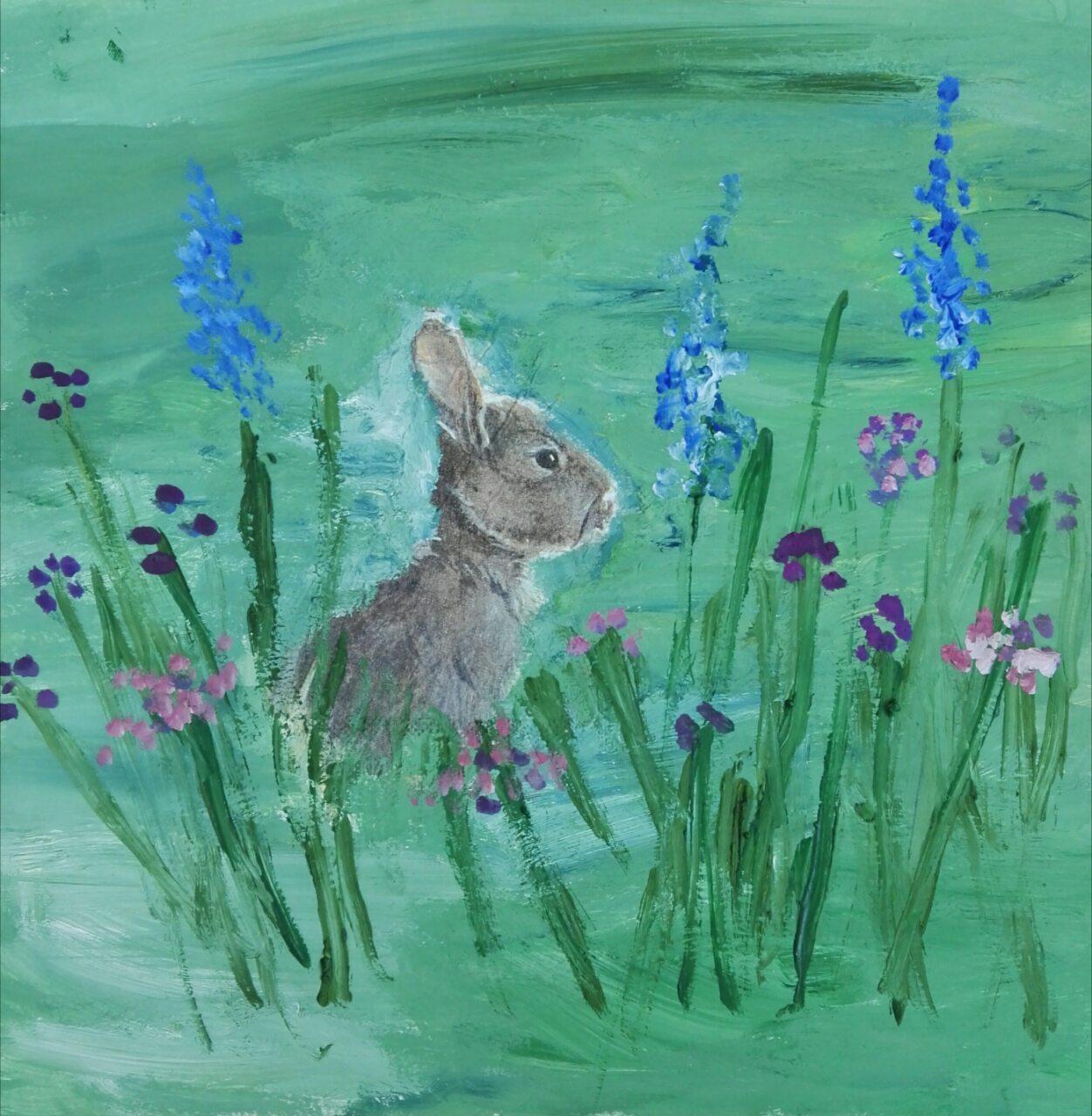 Заяц втраве (2)
