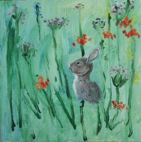 Заяц втраве (3)