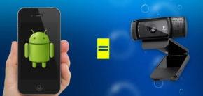 Смартфон сAndroid вместо веб-камеры