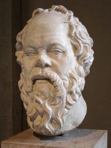 Портрет Сократа работы Лисиппа, хранящийся вЛувре