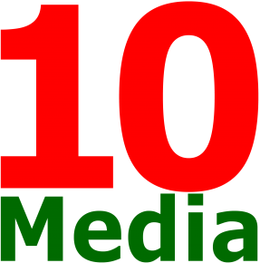 10 Медиа (10Media, логотип)