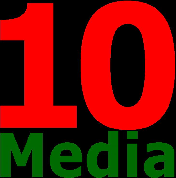 10 Медиа (10Media, логотип) (сайт Минской школы киноискусства)