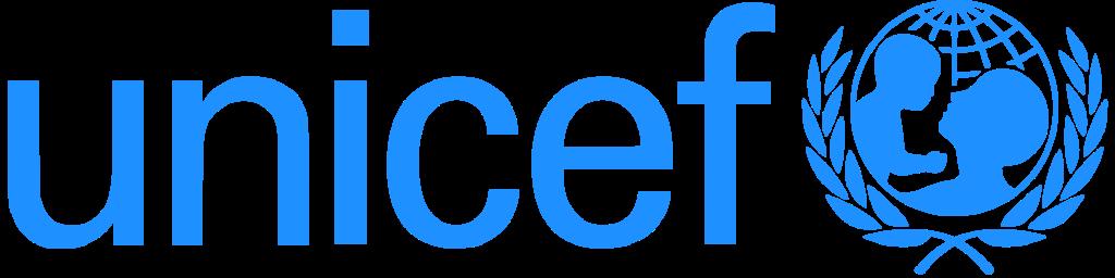 UNICEF logo (ЮНИСЕФ (Детский фонд ООН) — международная организация, действующая под эгидой Организации Объединённых Наций; логотип, эмблема)