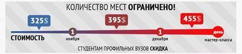 Практические мастер-класс Андрея Языджи по работе со стэдикамом в Минске (6 дней, декабрь 2013 года): цены, скидки