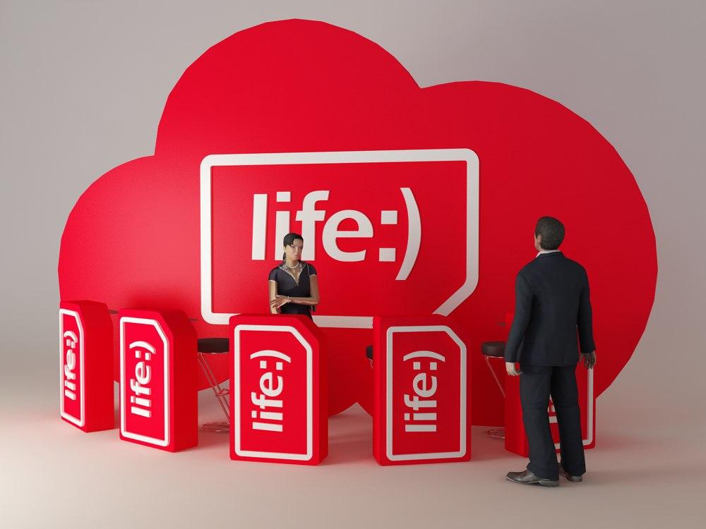 Мобильный оператор life:) SIM-карты воблаке